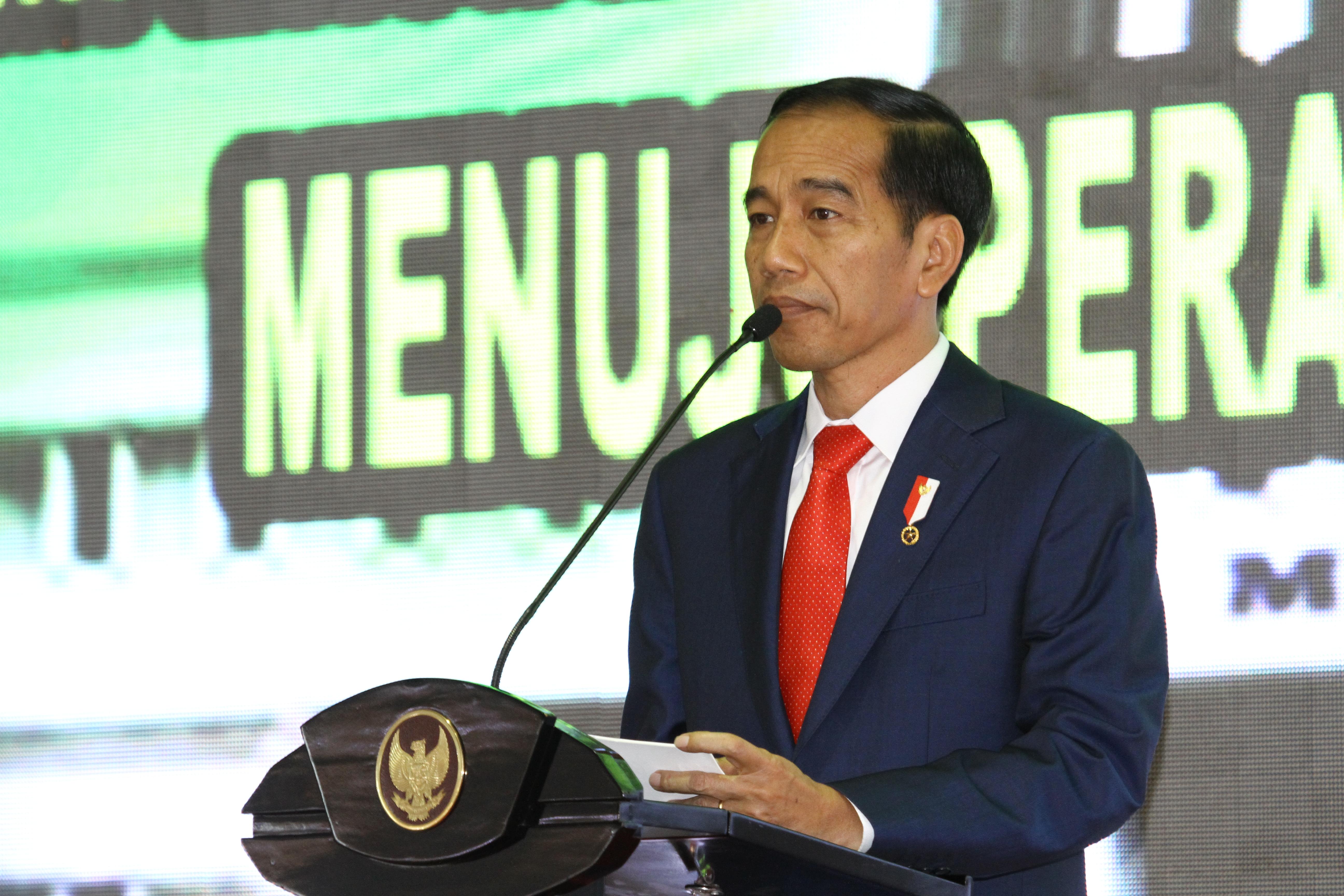 PRESIDEN JOKOWI: SELAMAT MENGABDI MENJADI PELAYAN KEADILAN BAGI RAKYAT INDONESIA