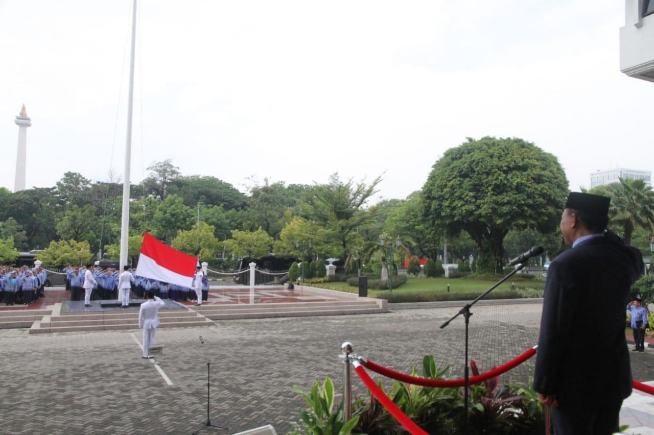 PANITERA MAHKAMAH AGUNG JADI PEMBINA UPACARA HARI SUMPAH PEMUDA KE 90