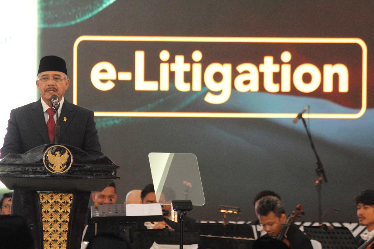 Ketua Mahkamah Agung: E-Litigasi, Redesain Praktek Peradilan Indonesia