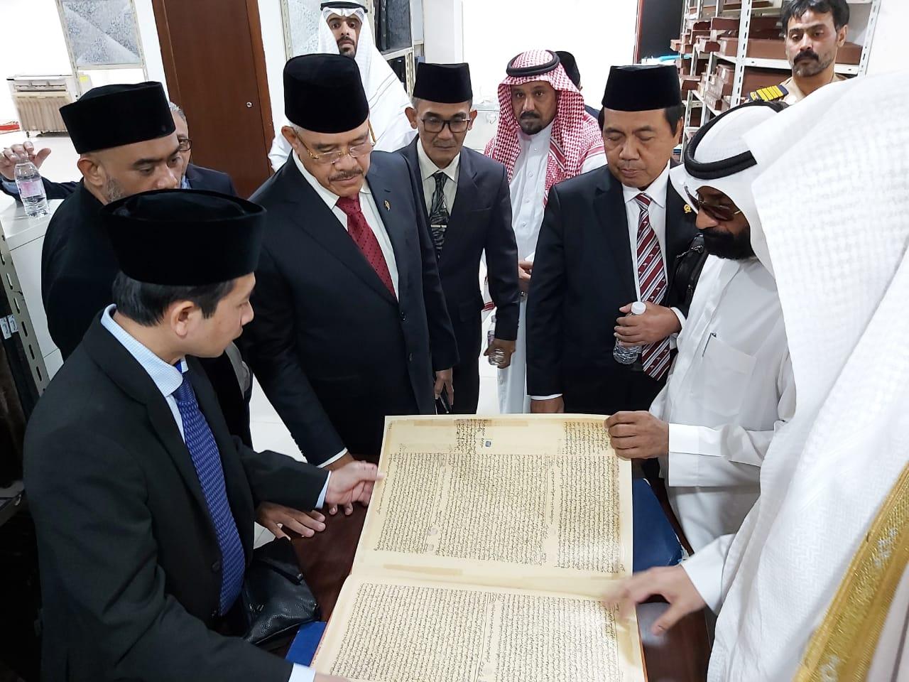 DELEGASI MAHKAMAH AGUNG REPUBLIK INDONESIA KUNJUNGI PENGADILAN UMUM  (MAHKAMAH AL-AMMAH) MAKKAH