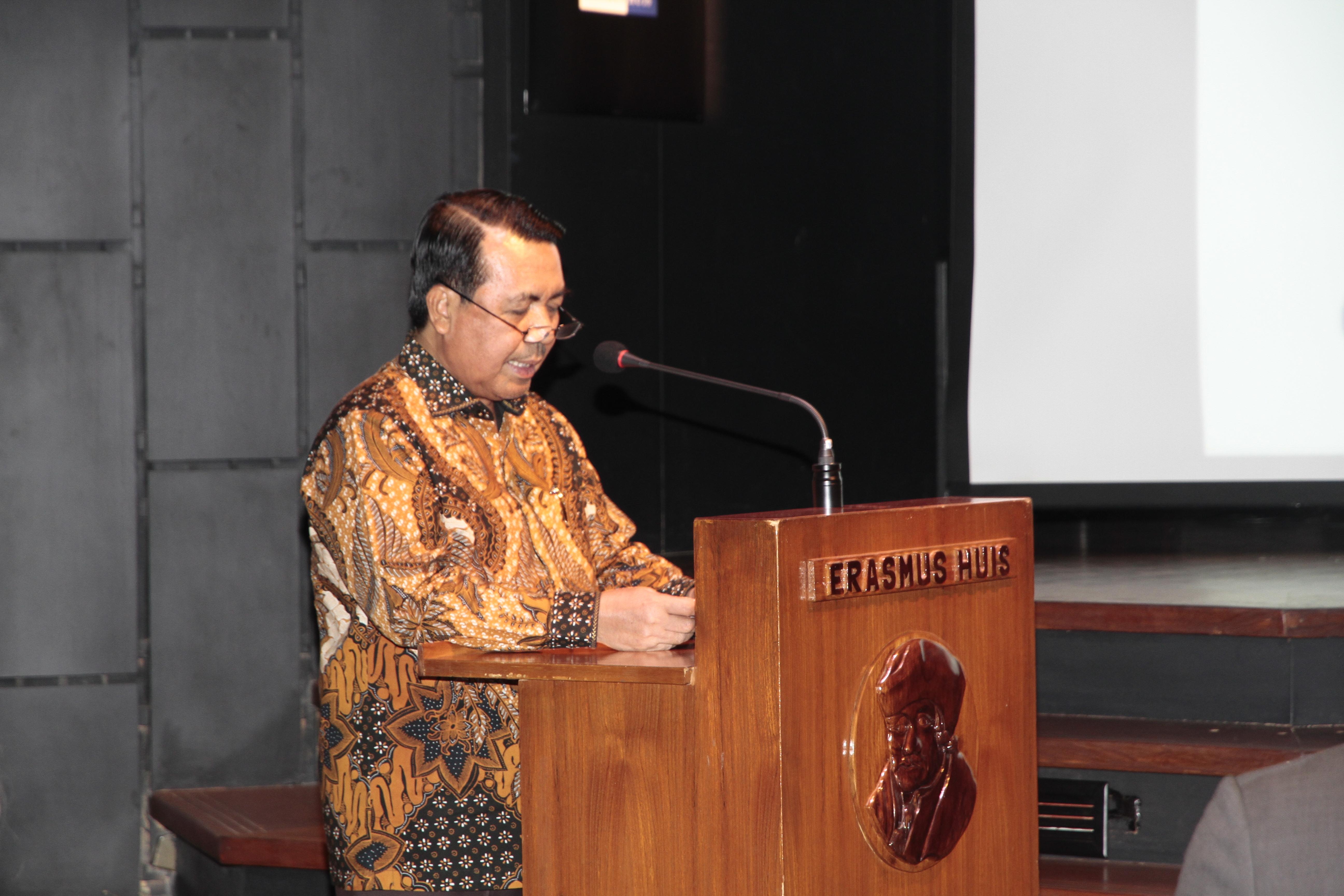 Dr. SYARIFUDDIN CERAMAH PADA KONFERENSI INDONESIA - NETHERLANDS SECURITY AND RULE OF LAW UPDATE 2019