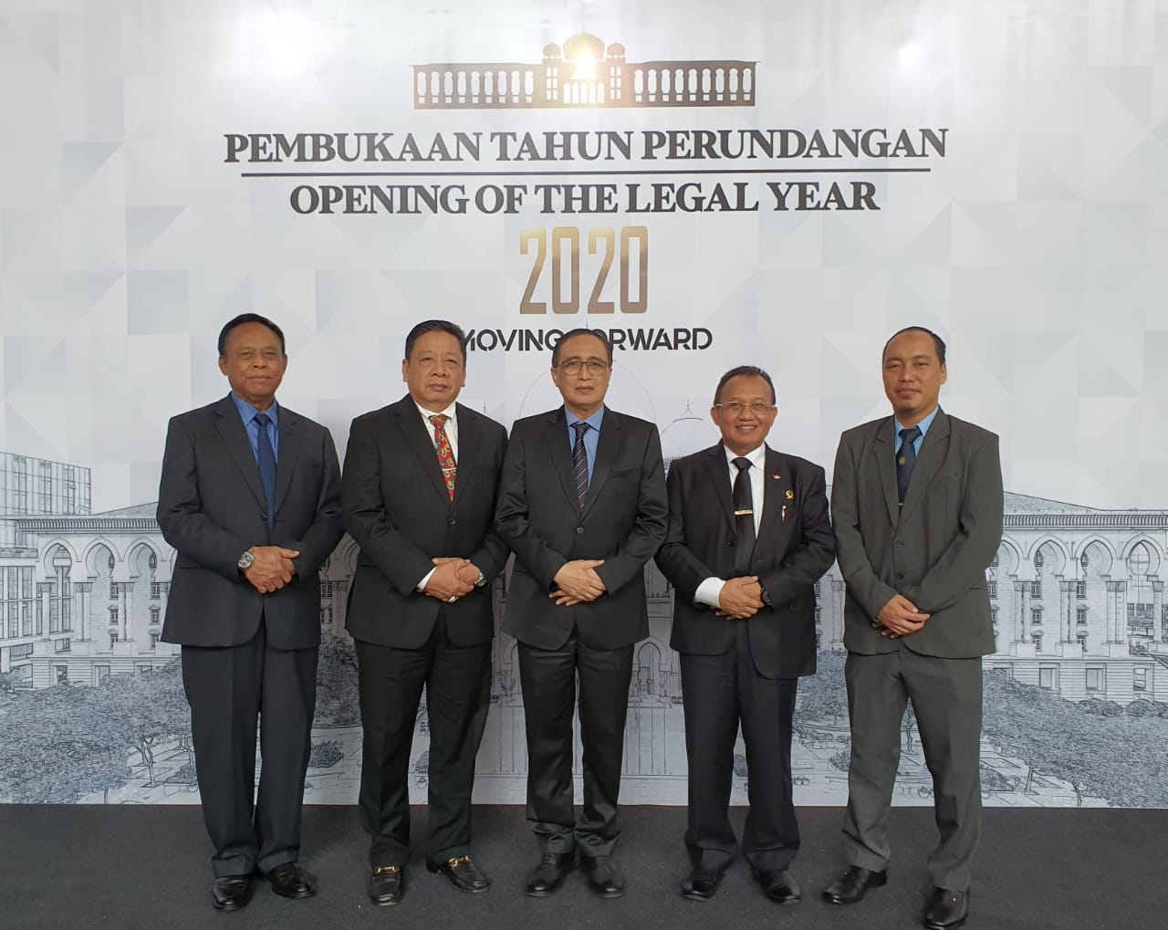 DELEGASI MA HADIRI OPENING OF THE LEGAL YEAR 2020 FEDERAL COURT OF MALAYSIA