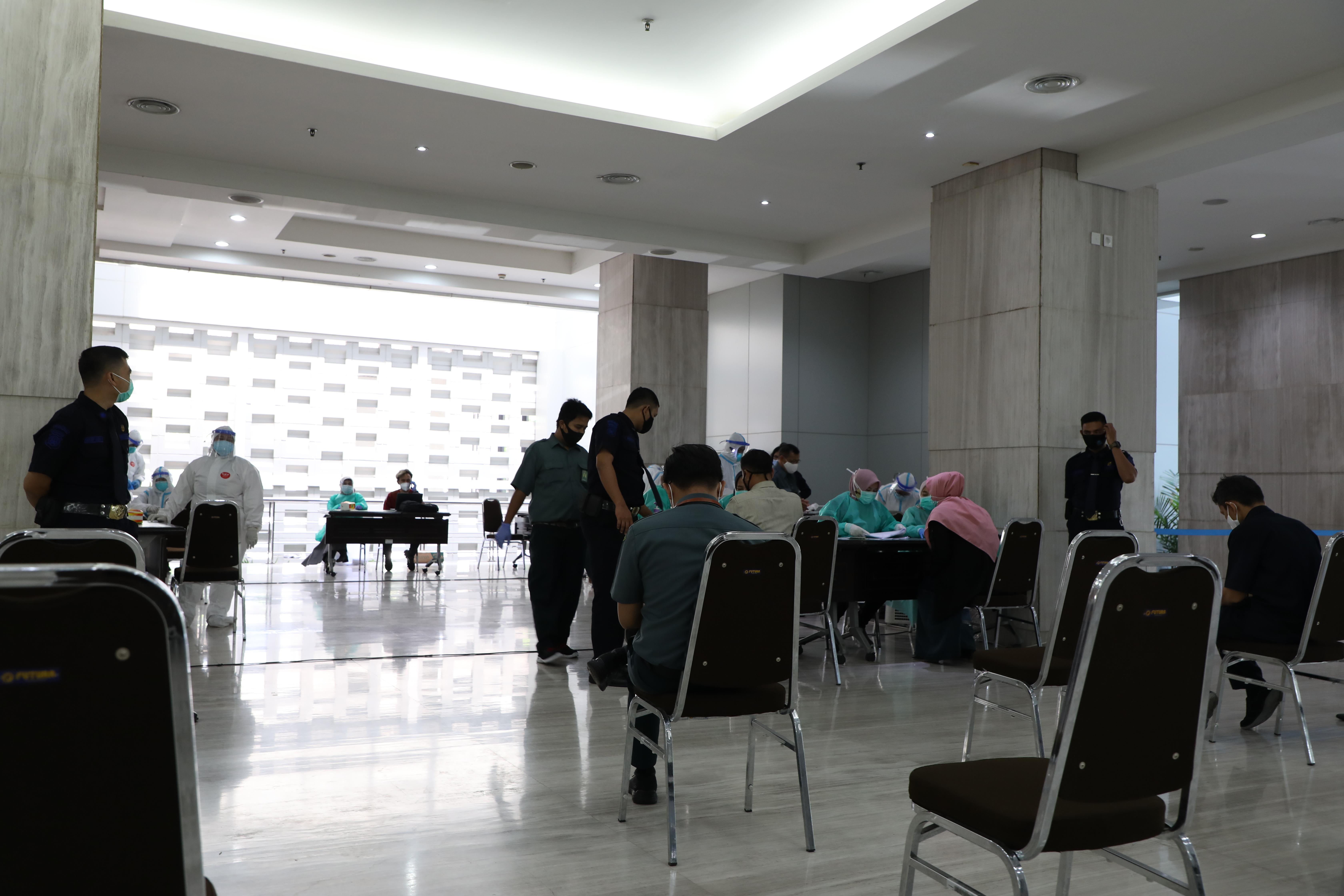 MAHKAMAH AGUNG KEMBALI MENGGELAR SWAB TEST